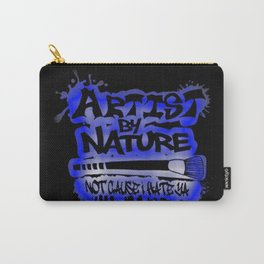Artist By Nature Graffiti Blue Carry-All Pouch