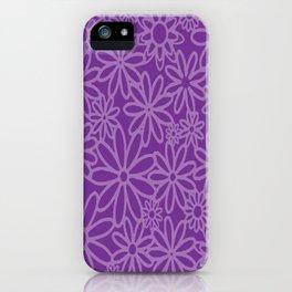 flores malva iPhone Case