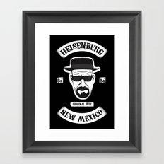 Sons Of Heisenberg Framed Art Print