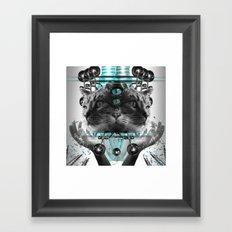 Cattus Framed Art Print