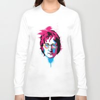 john snow Long Sleeve T-shirts featuring john by Shane CatneyArt