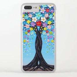Kaleidoscope Dreams Clear iPhone Case