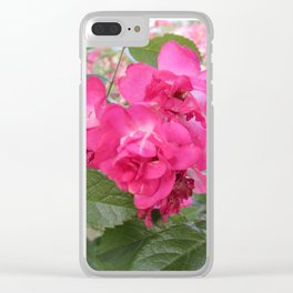 Ageless Adorations Clear iPhone Case