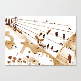 Music of th hills Canvas Print