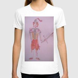 A Battle Scarred Conquistador. T-shirt