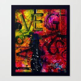 Vegas Verve Canvas Print