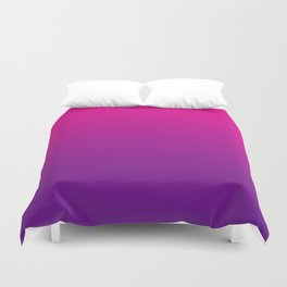 Neon Pink Purple Ultra Violet Pattern Duvet Cover