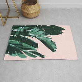 Banana Leaves Finesse #3 #tropical #decor #art #society6 Rug