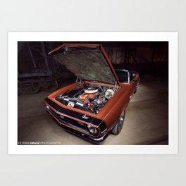 1968 Camaro  Art Print