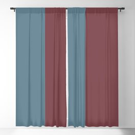 Parable to Behr Blueprint Color of the Year and Accent Colors Vertical Stripes 3 Blackout Curtain