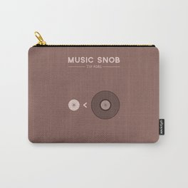 "Still NOT ""The New Vinyl"" — Music Snob Tip #082.5 Carry-All Pouch"