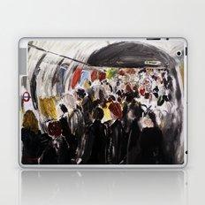 London Underground Subway Going To Work Part 2 Laptop & iPad Skin