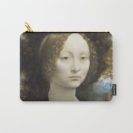Leonardo Da Vinci - Ginevra De Benci. Carry-All Pouch