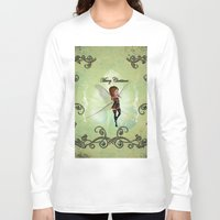 elf Long Sleeve T-shirts featuring Christmas elf by nicky2342
