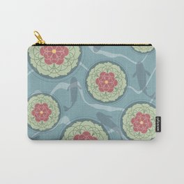 Koi Lotus Pond Carry-All Pouch