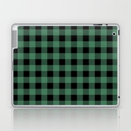 Green Flannel Laptop & iPad Skin