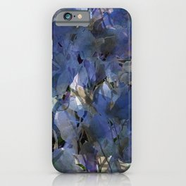 Moody Blooms iPhone Case