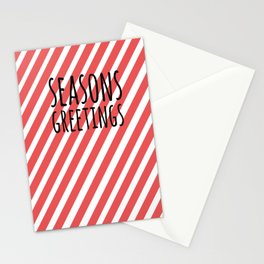 Season greetings polka Stationery Cards