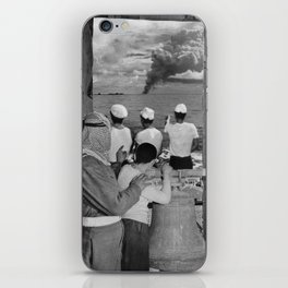 The Blame Game International Diplomacy Edition - Vintage Collage iPhone Skin