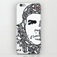 che iPhone & iPod Skins featuring Che by Rucifer