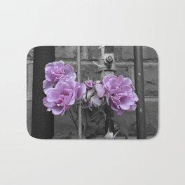 Industrial Roses Bath Mat