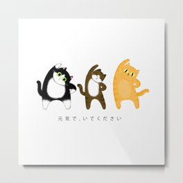 Stay healthy / Illustration Metal Print