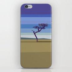 Minimal savannah iPhone & iPod Skin