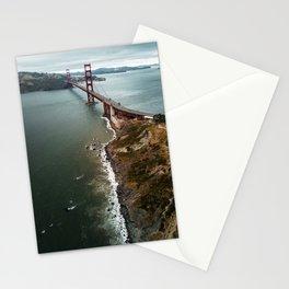 san francisco golden gate bridge Stationery Cards