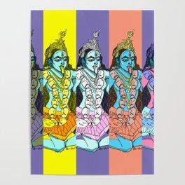 Kali Collage Poster