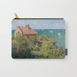 Claude Monet - Fisherman's Cottage on the Cliffs at Varengeville Carry-All Pouch