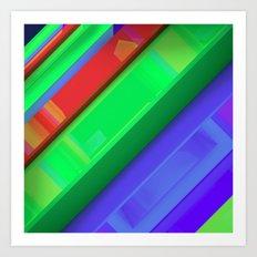 Vis-1 Art Print