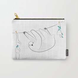 Svend the Sloth [dabble no. seven] Carry-All Pouch