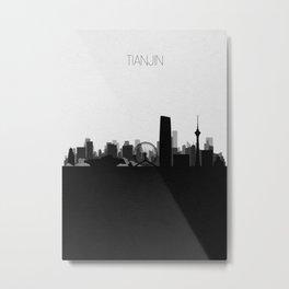 City Skylines: Tianjin Metal Print