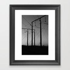 Luossavaara Framed Art Print