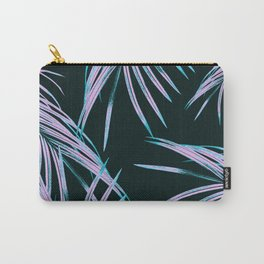 Tropical Palm Leaves Dream #1 #tropical #decor #art #society6 Carry-All Pouch