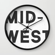 MID-WEST Wall Clock