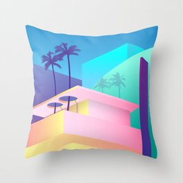 Pastel Paradise #006 Throw Pillow