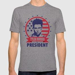 Tyler Durden For President T-shirt