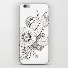 Delicate Floral iPhone Skin