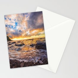 Maia beach Stationery Cards