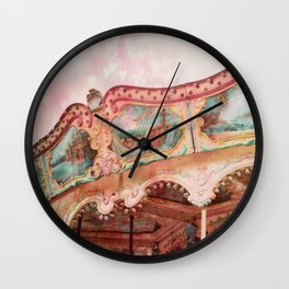 I Heart my Carousel Wall Clock