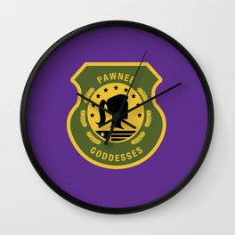 Pawnee Goddesses Wall Clock