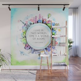 Rory Gilmore Bookish World Wall Mural