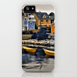 Lunenburg, Nova Scotia iPhone Case