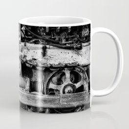 Vintage Caterpillar Tracks Coffee Mug