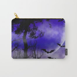 Dark Art Silhoutte - Monster Moon Carry-All Pouch