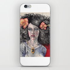 She Had Hummingbirds in Her Hair iPhone & iPod Skin
