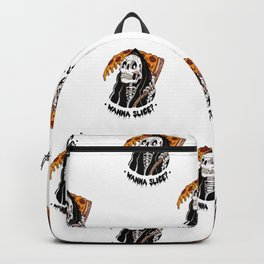 Grim Pizza Backpack