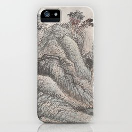 Outing to Zhang Gong's Grotto iPhone Case