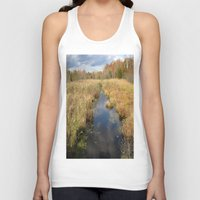 georgia Tank Tops featuring Georgia Landscape by Rosie Brown